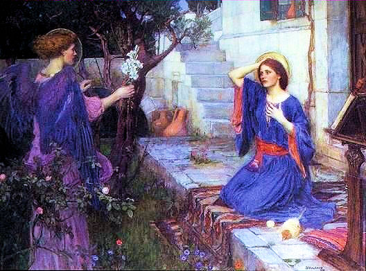 waterhouse.TheAnnunciation.jpg